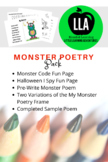 Monster Poetry Pack