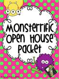 Monster Polka Dots Theme Open House / Meet the Teacher Mega Pack