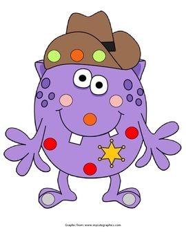 Monster Pom Pom Activity