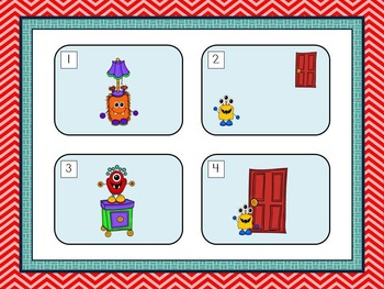 Monster PowerPoint (Positional Words)