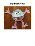 Printable Monster Craft and Writing Activity - No Prep!