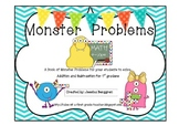 Monster Problems {First Grade}