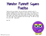 Monster Punnett Square Practice