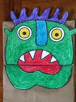 Monster Puppet Go Away Big Green Monster
