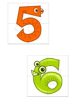 Monster Puzzle Student Grouping Cards