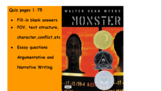 Monster Quiz 1 pp1-75. Fill-in and essay/constructed response questions.