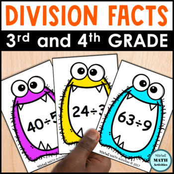 Monster Quotients Division Card Game
