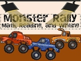Monster Rally:  Reading, Writing, and Math