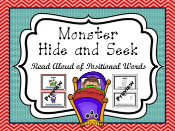 Monster Read Aloud of Positional Words