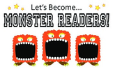 Monster Reader: Banner in Color