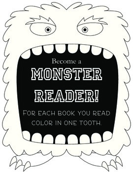 Monster Reader: Reading Chart