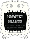 Monster Reader: Reading Chart