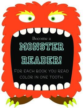 Monster Reader: Reading Chart in Color