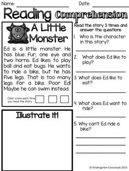 Monster Reading Comprehension