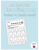 Monster Reading Log