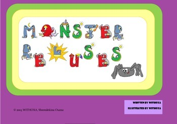 Monster Rebuses - Halloween