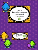 Monster Receptive Language Skill Builder