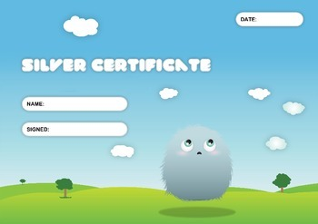 Monster Reward Chart and Certificates
