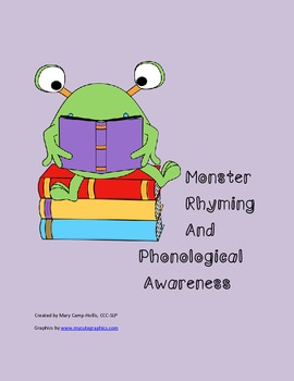 Monster Rhyming and Phonological Awareness
