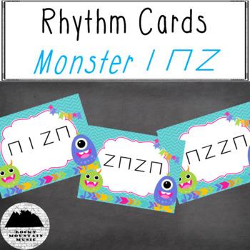 Monster Rhythm Cards