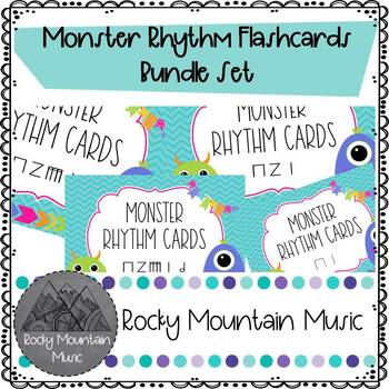 Monster Rhythm Cards Bundle
