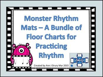 Monster Rhythm Mats - Charts for Practicing Rhythm