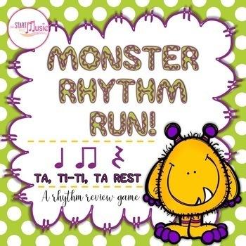Rhythm Game - Monster Rhythm Run - Ta, Ti-ti, Ta Rest