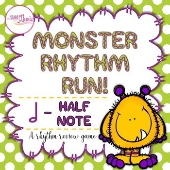 Rhythm Game - Monster Rhythm Run - Half Note