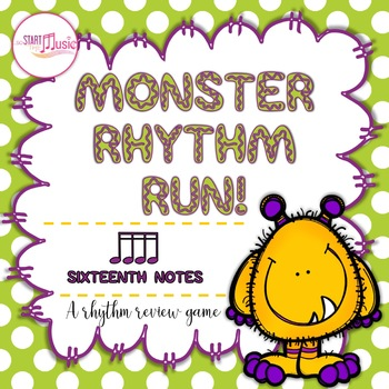 Monster Rhythm Run - Sixteeth Notes