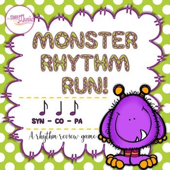 Rhythm Game - Monster Rhythm Run - Syncopa