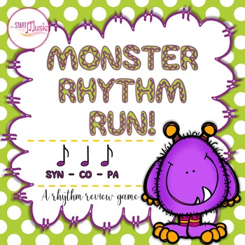 Rhythm Game - Monster Rhythm Run - Syncopa
