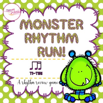 Rhythm Game - Monster Rhythm Run - Ti-Tiri