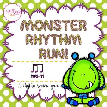 Rhythm Game - Monster Rhythm Run - Tiri-Ti