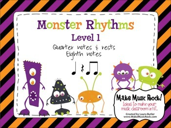 Monster Rhythms - Level 1