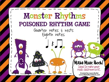 Monster Rhythms - Level 1 Practice and Game Bundle