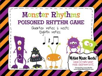 Monster Rhythms-Poisoned Rhythm Game