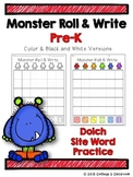 Monster Roll and Write