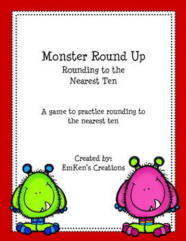 Monster Round Up Nearest Ten
