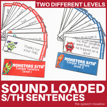 Monster S and Th Tongue Twisters