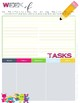 Monster School Monthly & 1 Page per Week Planner