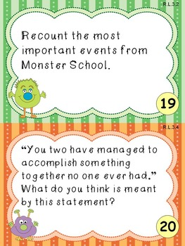 Monster School Scoot (Echo Response) Game