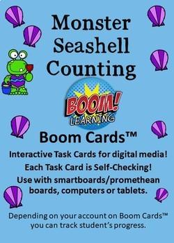 Monster Seashell Counting