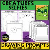 Monster Selfies Drawing Prompts