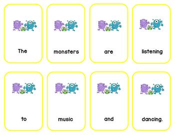 Monster Sentence Mash-Up