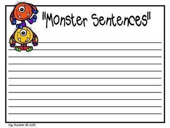 Monster Sentences