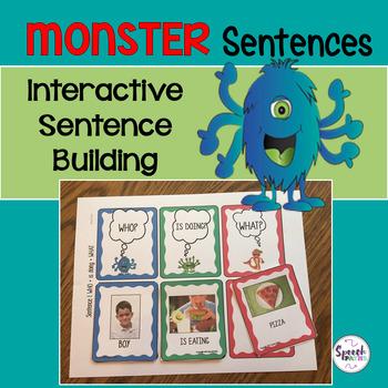 Sentence Building: Monster Sentences