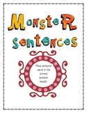 Monster Sentences (Periods, Exclamation Points, & Question