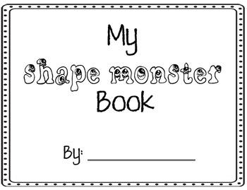 Monster Shape Book