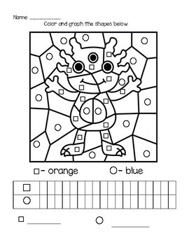 Monster Shape Graphing