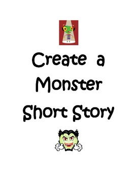 Monster Short Story Graphic Organizers